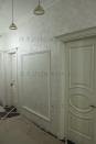 2-066 Венецианская штукатурка в коридоре - имитация белого оникса.