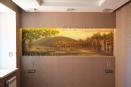 Роспись на стене в спальне. Аэрография.