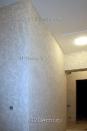 ob076 декоративная штукатурка в коридоре - практичный выбор