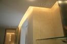 ob095 стена кухни над вытяжкой - классическая венецианская штукатурка