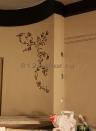 ob155 классическая декоративная штукатурка и роспись в ванной комнате
