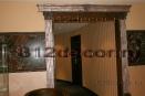 va0003 Декор в холле портала из полиуретана под чугун и серебро.
