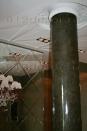 va0006 Фрагмент декора прихожей. Колонна - венецианская штукатурка.