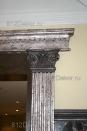 ob145 Декор лепнины(полиуретана) под старое серебро и чугун - авторские техники