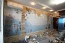 kes-005 роспись на стене