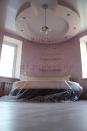 Венецианская штукатурка с перламутром в детской спальне.