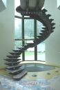 ob073 Декор лестницы. Авторская техника декоративной штукатурки