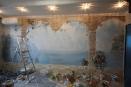 kes-001 роспись на стене