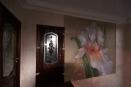 декоративная штукатурка и роспись на стене